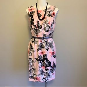 Beautiful Floral Pencil Dress